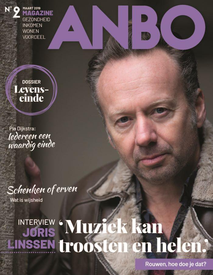 Titelblad van de Anbo Magazine